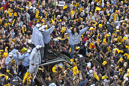 Steelers parade 2009