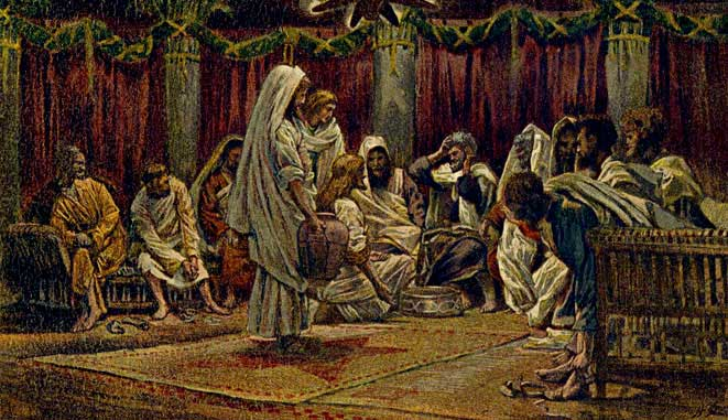 Tissot-jesus-washes-feet-of-disciples