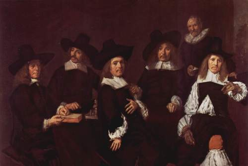 Regents of Old Men's Almshouse Frans Hals