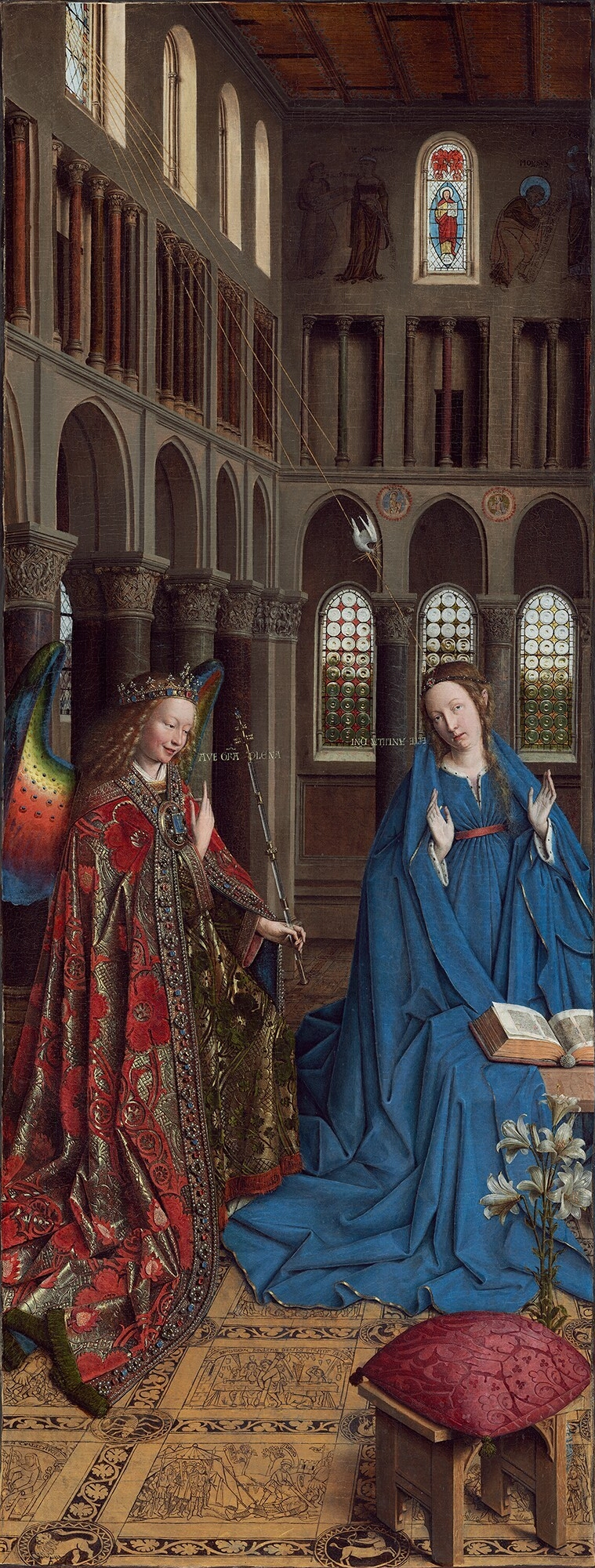 Annunciation_-_Jan_van_Eyck_-_1434_-_NG_Wash_DC