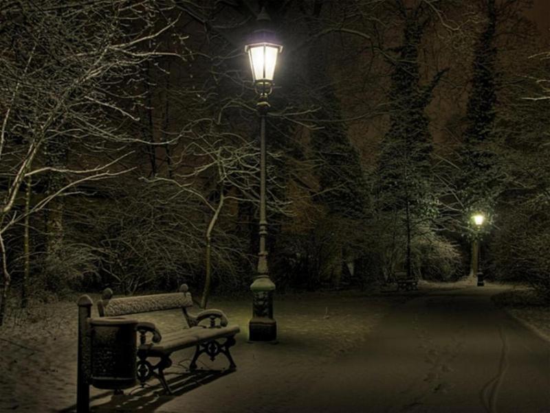 Streetlight advent