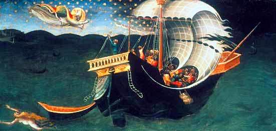 Nicholas at sea