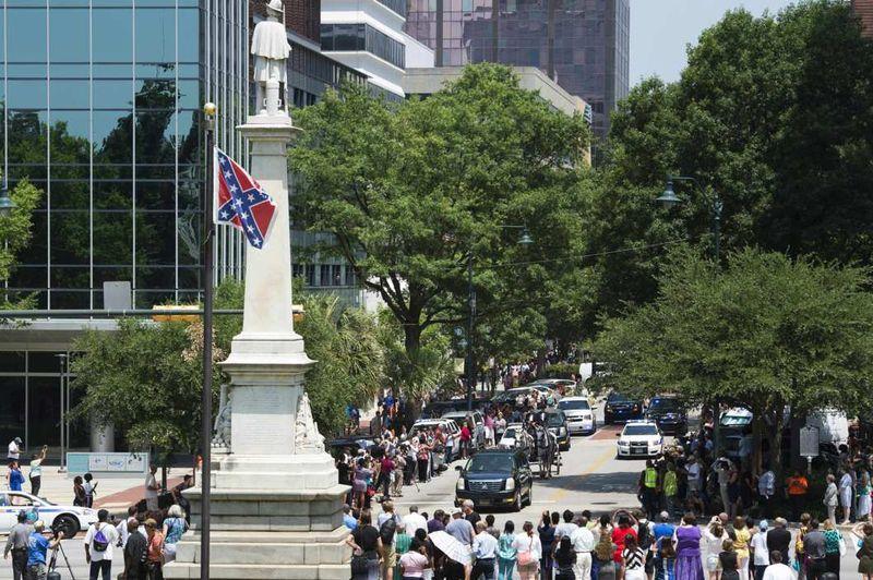 Charleston funeral procession