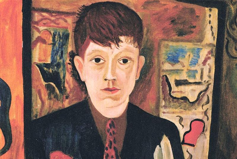 David Jones self portrait